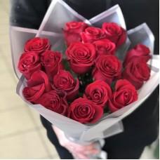 Розы  60 см - 17 шт.(Эквадор)