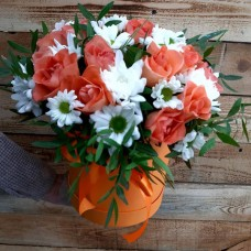 """Цветы в коробке """"Признание"""""""