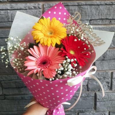 Цветы учителю