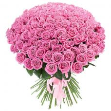 Розы  розовые Россия