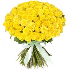 Розы жёлтые Россия