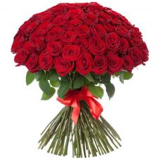 Розы  красные Россия