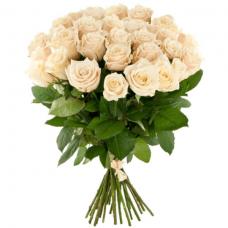 Розы кремовые Эквадор