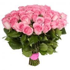 Розы розовые Эквадор