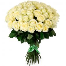 Розы белые Экадор