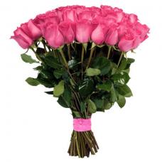 Розы  розовые Голландия
